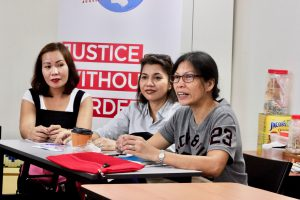 Home caseworkers sharing their experiences on the many migrant worker cases they handle.